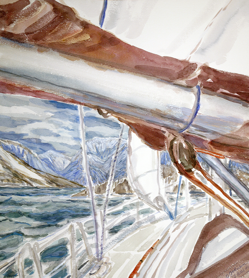 Artic Ice Boreal yachting