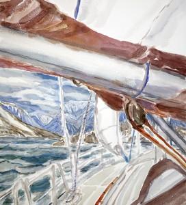 artic ice lyngen fjord