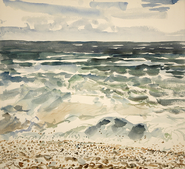 seaside painting wind camber