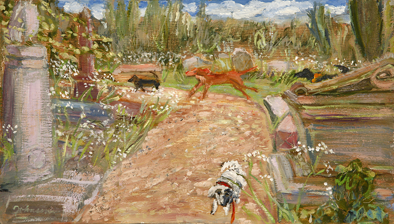 nunhead cemetery oil dogs
