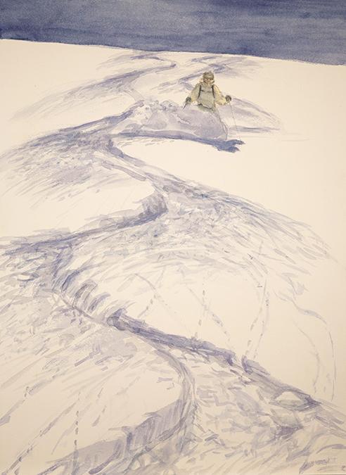 alpine painting powder schwarztor