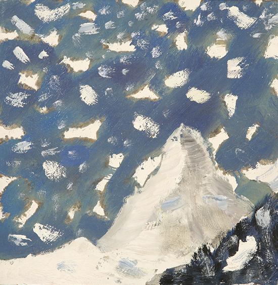 large snowflakes matterhorn