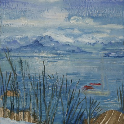 Uloya alpine painting Norway