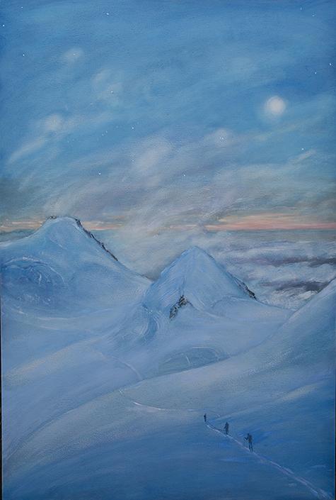 alpine painting spaghetti tour