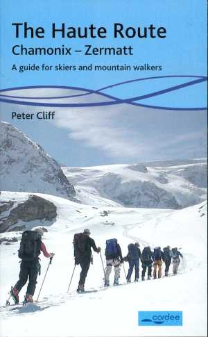 Classic guidebook - just met author Peter Cliff near Klein Matterhorn in Zermatt, and he is still going after two new knees and two new hips!