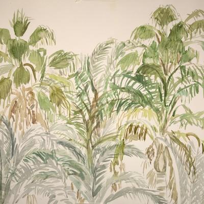 palms queensland painting australia