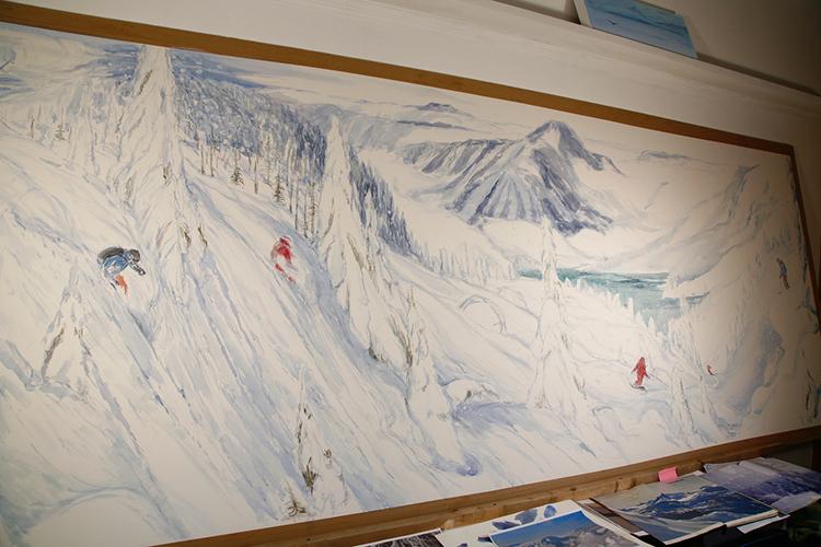 canada powder skiing