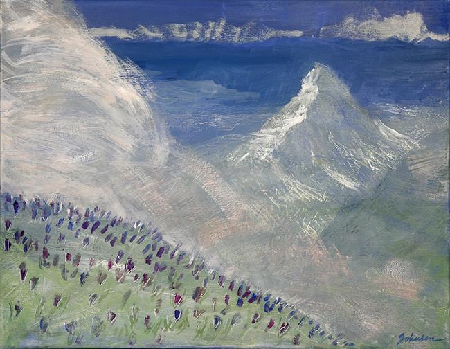 matterhorn zermatt spring climbing mountain