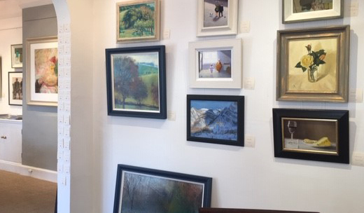 Afternoon Sunlight in Valle Maira in the middle of the wall - Summer show of Fosse Gallery Artists