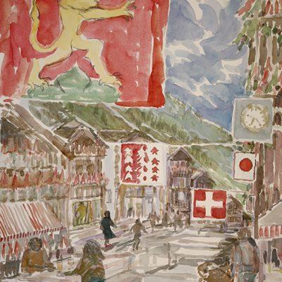 swiss national day zermatt