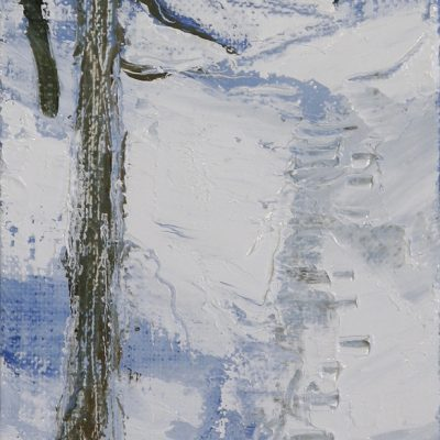Val Maira alps painting alpine