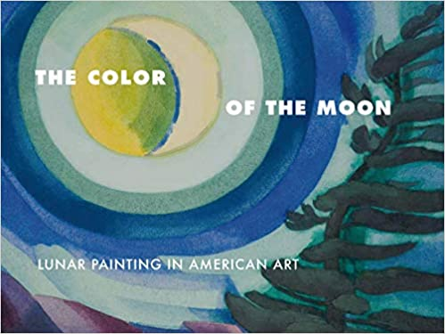 color of the moon lunar painting