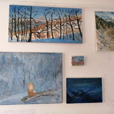 studio oil paintings