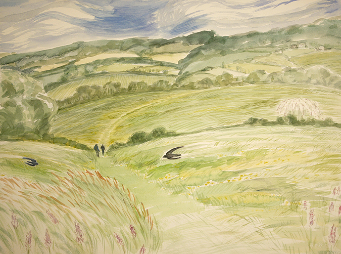 cotswold way painting