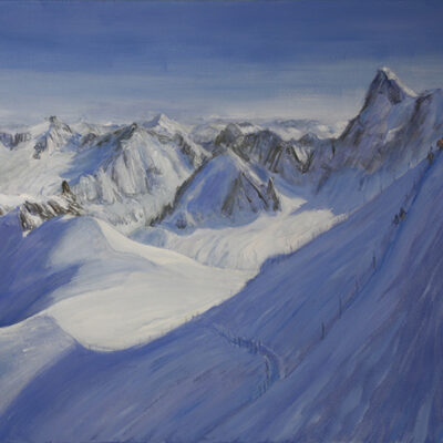 Mountain Landscapes in OIl