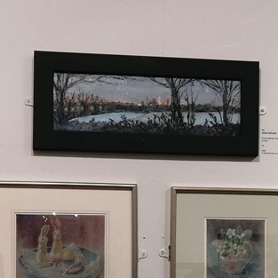New English Art Club Annual Exhibition 2021 Mall Galleries in London
