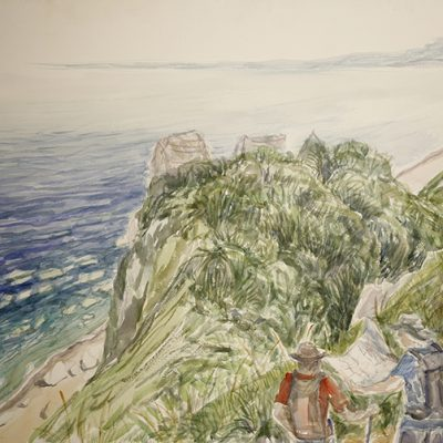 sherborne rocks reading map south west coast path